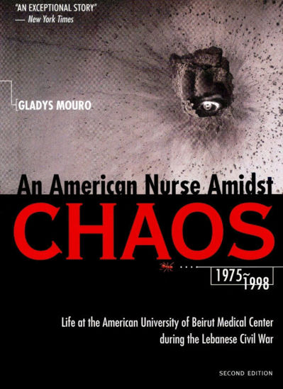 Picture of An American Nurse Amidst Chaos
