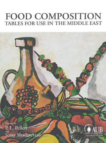 Picture of Food Composition: Tables for Use in the Middle East