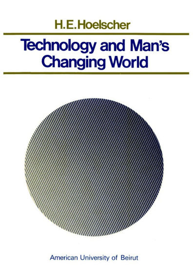 Picture of Technology and Man's Changing World