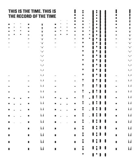 Picture of This is the Time. This is the Record of the Time