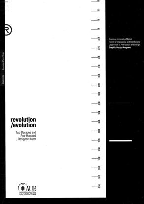 Picture of Revolution/Evolution: Two Decades and Four Hundred Designers Later